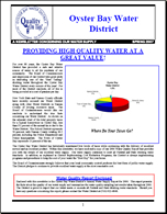 Oyster Bay Water District Newsletter